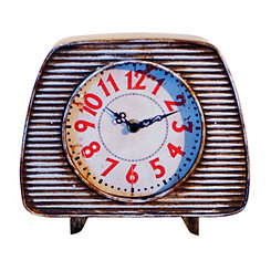Antique Metal Retro Table Clock