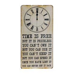 Time is Free Wall Clock