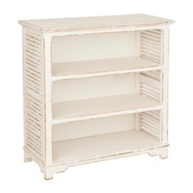 White Shutter Shelf
