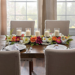 Bright Daisy Mix Centerpiece