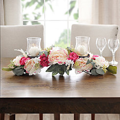 Pink and White Peonies Centerpiece