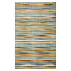 Confetti Stripes Area Rug, 5x8