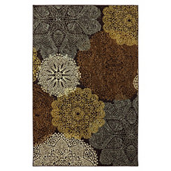 Brown Spiro Area Rug, 8x10