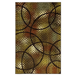 Brown Enticement Area Rug, 5x8