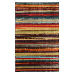 Boho Stripe Area Rug, 8x10