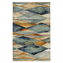 Diamond Illusion Area Rug, 5x8