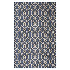 Blue Morrison Area Rug, 5x8
