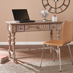 Sarcoline Turned-Leg Desk