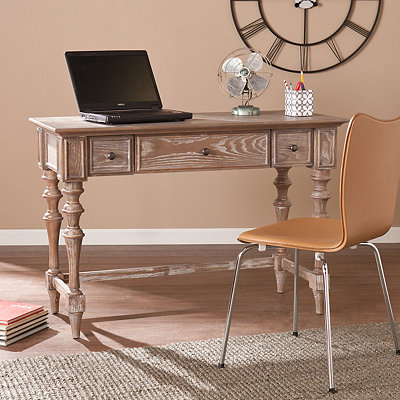 Sarcoline Turned-Leg Desk