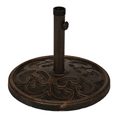 Bronze Metal Umbrella Base