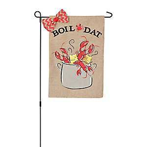 Boil Dat Crawfish Flag Set