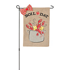 Boil Dat Crawfish Flag Set