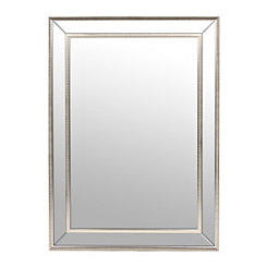 Medium Silver Luxe Mirror