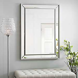 Medium Silver Luxe Mirror