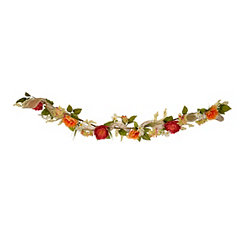Bright Peony Mix Garland, 6 ft.