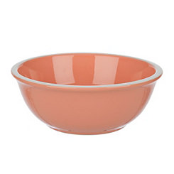 Pastel Orange Bowls, Set of 4