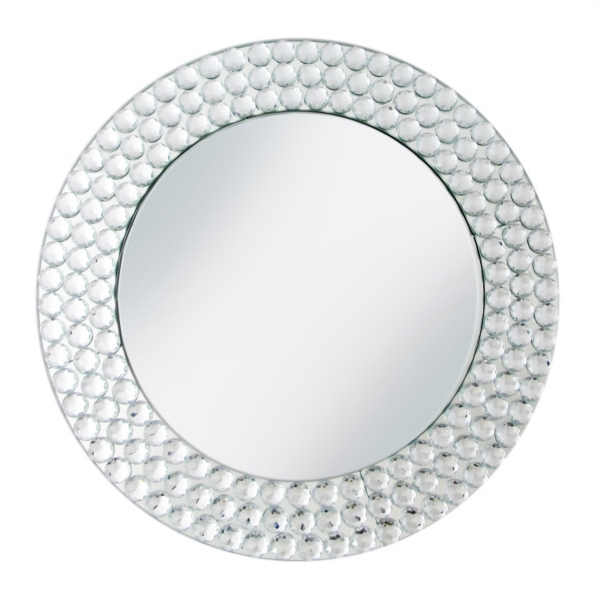 Beaded Silver Mirror Charger  sc 1 st  Kirklands & Charger Plates | Kirklands