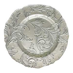 Silver Vanessa Charger