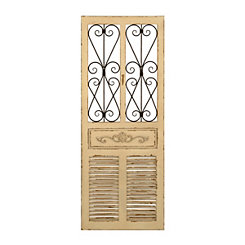 Ornate Shutter Wall Plaque
