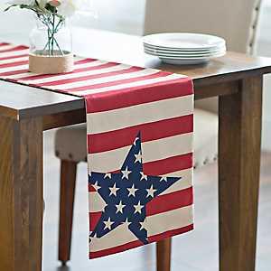 Stars and Stripes Table Runner
