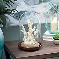White Coral Cloche