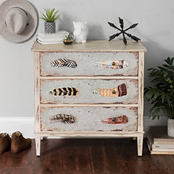 Feathers 3-Drawer Chest