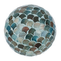 Blue Scale Mosaic Orb