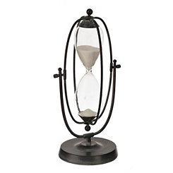 Rustic Framed Hourglass