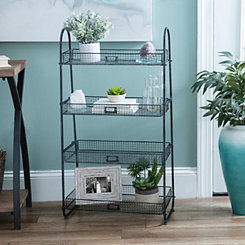 Metal Basket 4-Tier Stand