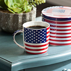 United States of America Flag Mug
