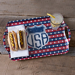 USA Melamine Serving Tray