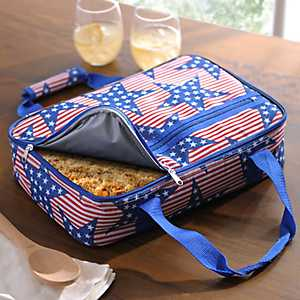Star and Stripes Casserole Tote