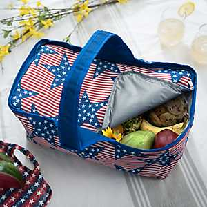 Stars And Stripes Picnic Tote