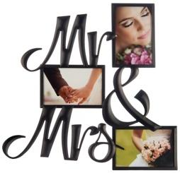 Mr. & Mrs. Collage Frame