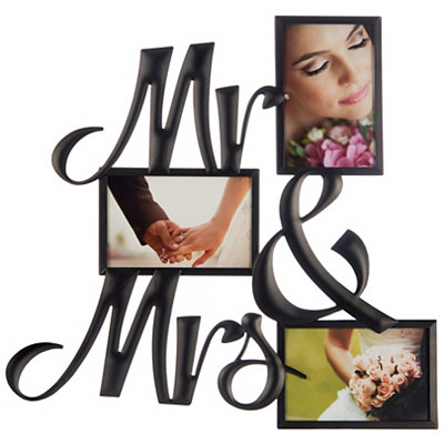 Mr. & Mrs. Collage Frame
