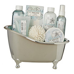 Beach Cotton 7-pc. Tub Bath Set