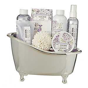 Lilac Dream 7-pc. Tub Bath Set