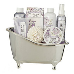 Lilac Dream 7-pc. Tub Bath Set