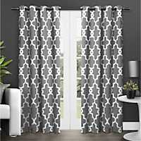 Gray Maxwell Blackout Curtain Panel Set, 84 in.