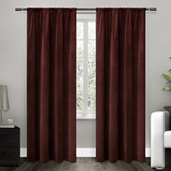 Red Blackout Curtain Panel, 96 in.