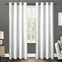 White Elington Curtain Panel Set, 84 in.