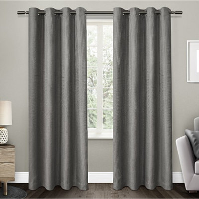 Gray Elington Blackout Curtain Panel Set, 96 in.
