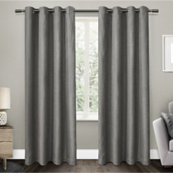 Gray Elington Blackout Curtain Panel Set, 108 in.