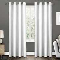 White Elington Curtain Panel Set, 108 in.