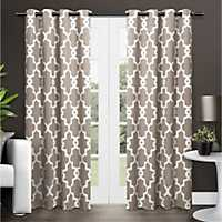 Taupe Maxwell Blackout Curtain Panel Set, 96 in.