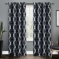 Navy Maxwell Blackout Curtain Panel Set, 96 in.