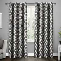 Gray Gates Blackout Curtain Panel Set, 84 in.