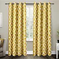 Yellow Gates Blackout Curtain Panel Set, 96 in.
