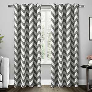 Gray Mars Blackout Curtain Panel Set, 84 in.