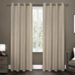 Linen Melrose Blackout Curtain Panel Set, 96 in.